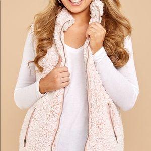 Thread & Supply Fuzzy Pink Vest